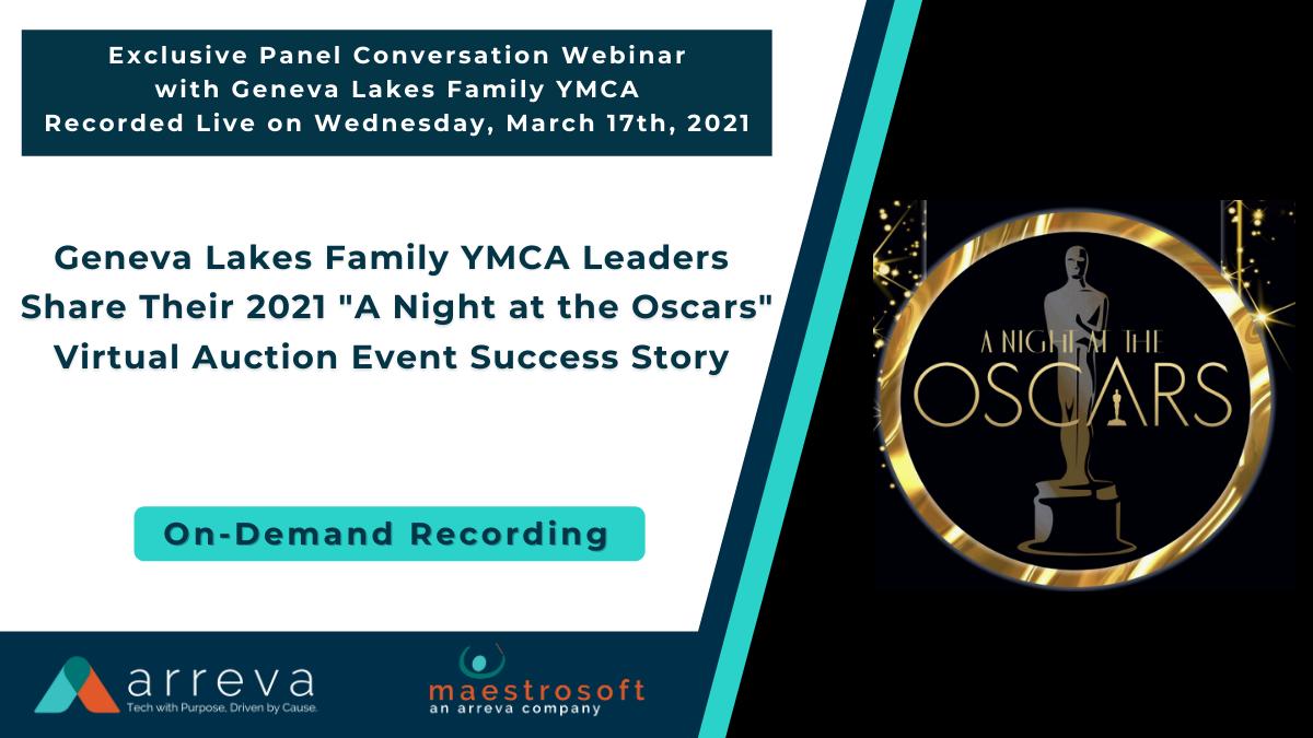 On Demand  March 17th, 2021 - Geneva Lakes YMCA Panel Conversation Webinar