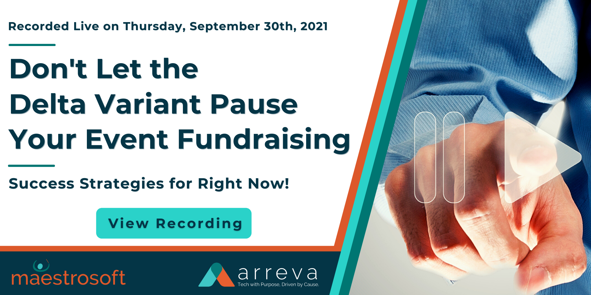 Recording LP  Exclusive Panel Workshop - Dont Let the Delta Variant Pause Your Event Fundraising